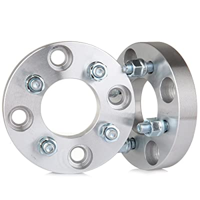 OCPTY 2x 4 lug wheel spacers 4x4.5 to 4x100 Bolt Pattern 67.1mm CB fit for Kia Spectra 5 Mitsubishi Lancer fit ford Mustang Acura Legend Honda Accord Hyundai Tiburon Nissan 240SX: Automotive