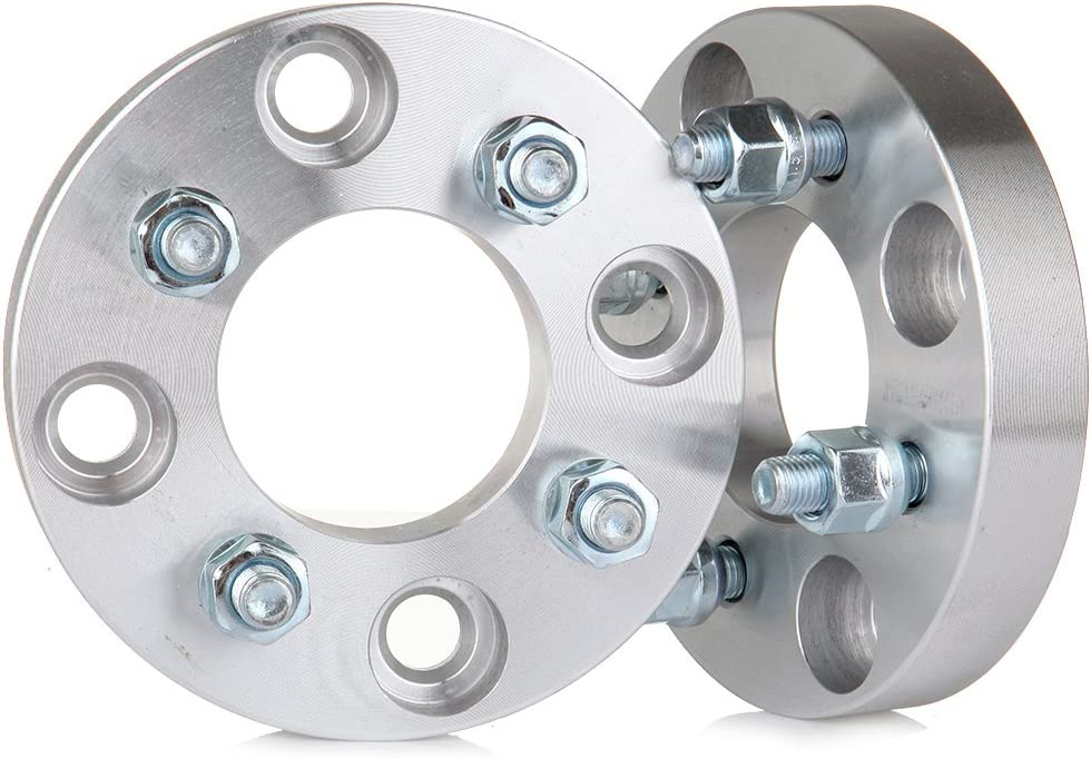 25mm 4x4.5 to 4x100 1 4 Lug Spacers for Nissan Hyundai Honda Acura Ford Mitsubishi Galant Lancer Kia Spectra5 ECCPP Replacement for 1 INCH 4 Lug Wheel Spacers Adapters 2