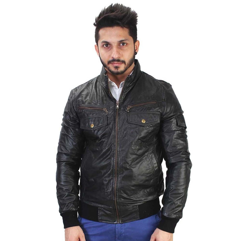 Bareskin Men's Leather Jacket