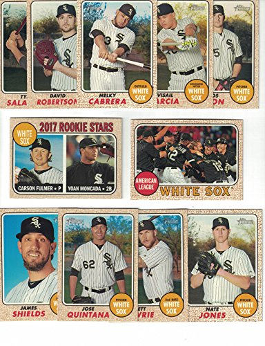 1968 Chicago White Sox (Chicago White Sox / Complete 2017 Topps Heritage Baseball Team Set. FREE 2016 TOPPS HERITAGE WHITE SOX TEAM SET WITH PURCHASE!)