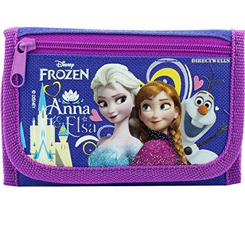 Olaf Purple Trifold Wallet ()