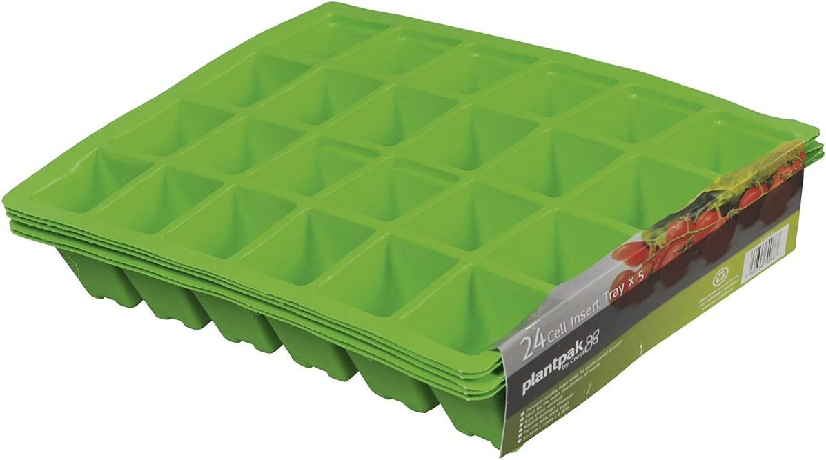 70200016 Plantpak 24 Cell Seed Tray Inserts Pack of 5