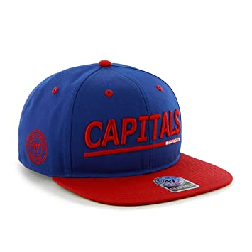 NHL Washington Capitals Oldbridge Adjustable Snapback Cap ( 47 Brand ... a0b08d5ec9f8