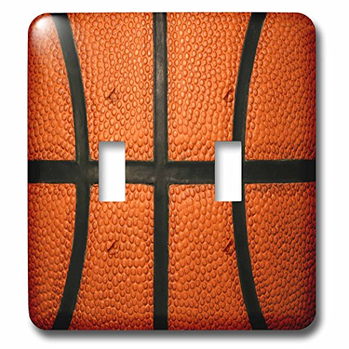 Sports - Basketball Sports Fan Lines Vertical - Light Switch Covers - double toggle switch (lsp_281849_2) ()