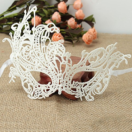 Masquerade Party - Sexy Fashion Women 39 S Lace Hollow Half Face Eyes Mask Halloween Masquerade Party Ball Prom - Games Sweet Supplied Signs Costume Accessories Couples Size Invites Pack Purp ()