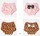 Guozyun Baby Girl's Bloomers Ruffle Bow Panty