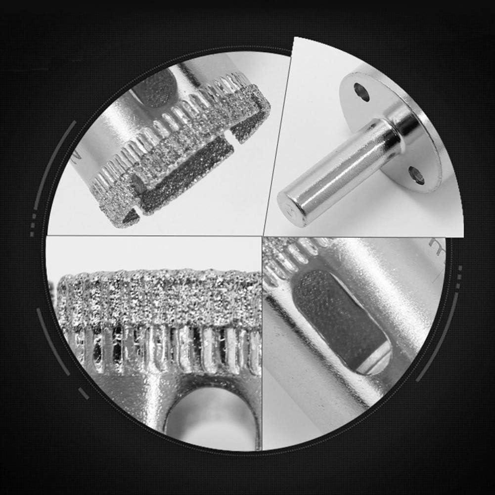 Ansemen Foret Diamant 120mm Rev/êtement Diamant Trou Scie Cloche Tr/épan pour Carrelage Marbre Verre C/éramique