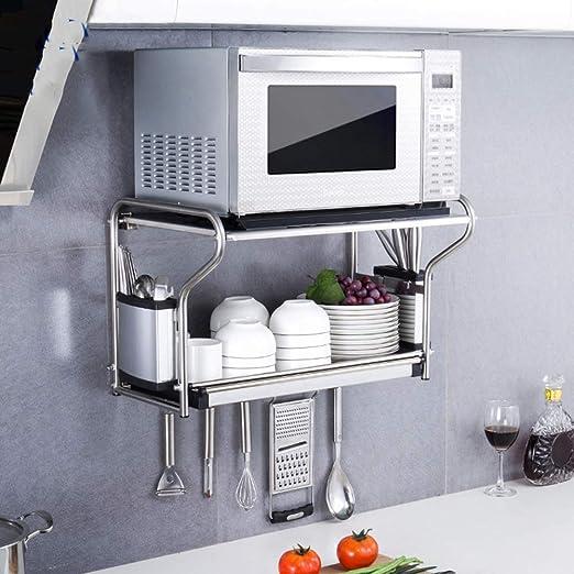 XUE-Y Soporte para Estante de la Cocina Horno de microondas ...
