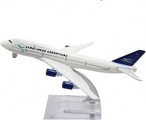 Aohang B747 AEROLINEAS ARGENAoAS Metal Alloy Airplane Model Plane Toy Airways Plane Model