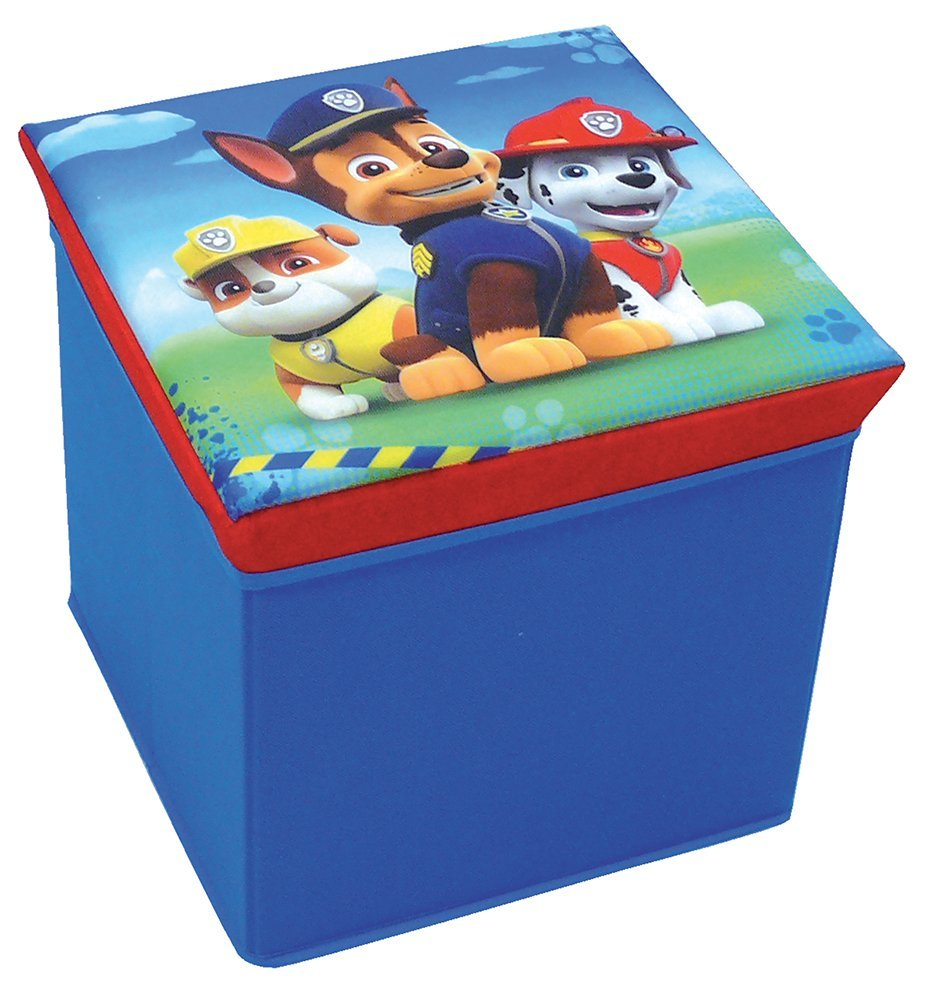31 x 31 x 29 cm Sgabello Porta Oggetti Fun House 712538 Pat Sorveglianza in Poliestere