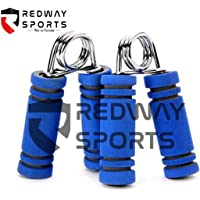 Redway Hand Gripper Forearm Exerciser Wrist Fitness Foam Hand Grip,Hand Gripper,Grip Strength Trainers (Colour May Very) (Two Piece)