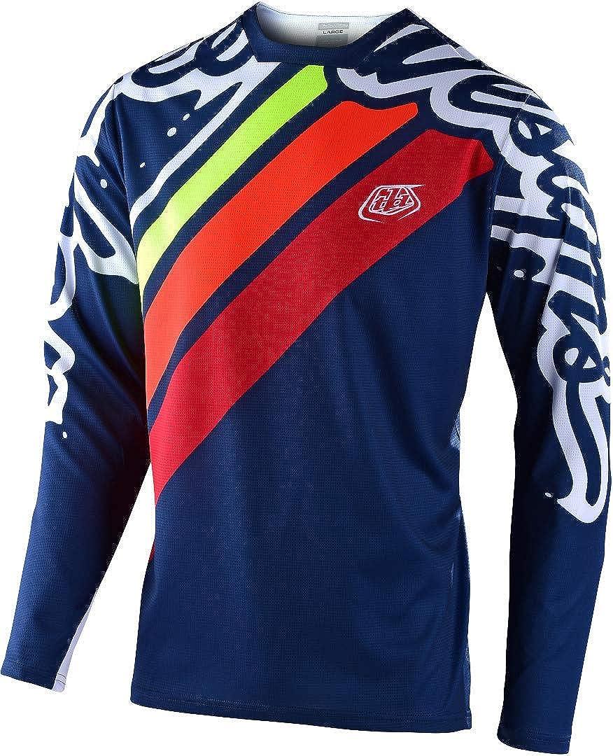 Mens Navy//Red Troy Lee Designs Sprint Jersey XXL