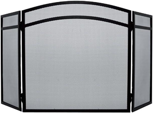 Home Discount Fire Vida Roxby Fire Screen Spark Guard Square Nickel