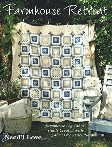 Farmhouse Retreat Quilt Pattern Book by Needl Love
