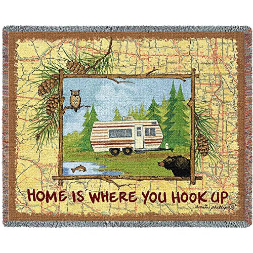Pure Country Inc. Hook up Blanket Tapestry Throw