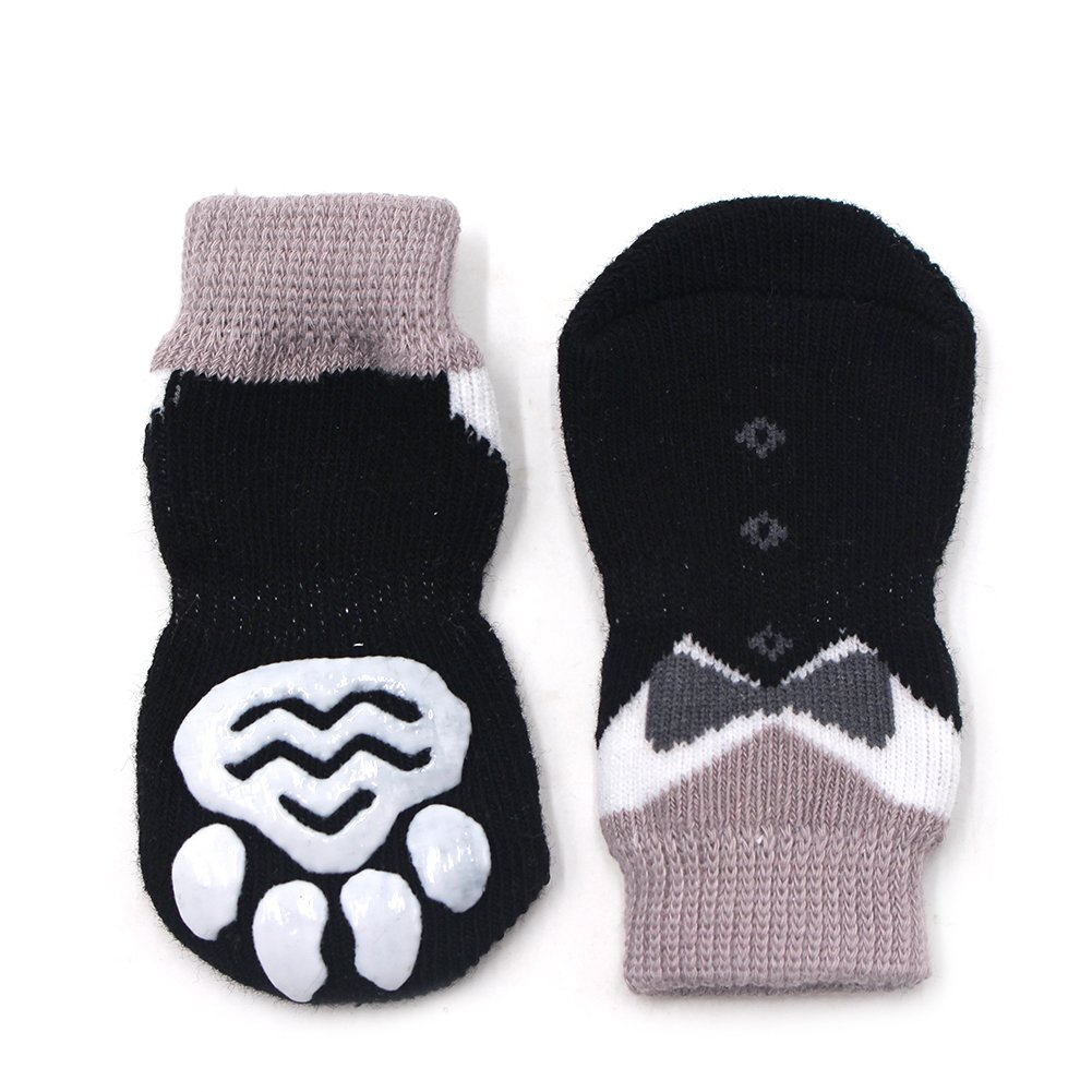 Amazon.com: zervioe mascota perro calcetines para suelos de ...