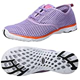 Zhuanglin Women's Mesh Slip On Water Shoes Size 6.5 B(M) US Purple