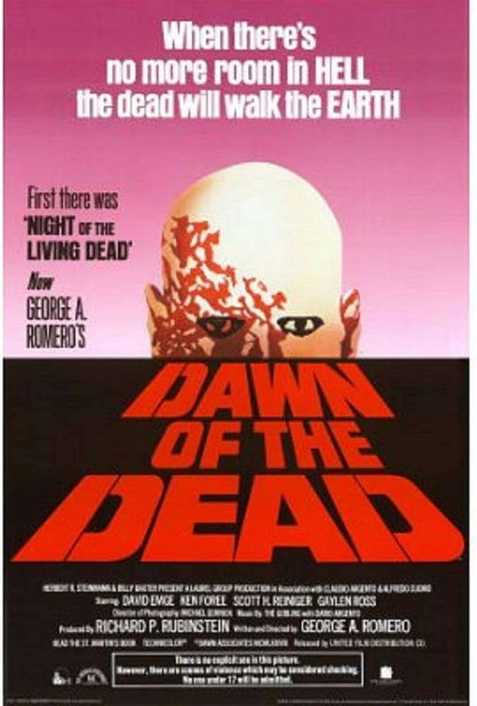 Picture Peddler Laminated Dawn of The Dead 1978 Movie Poster Print 24x36 Inch