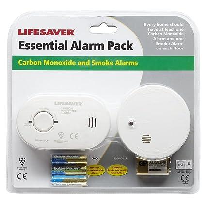 Kidde - Detector de Humo Alarma Monóxido Carbono CO1SA6