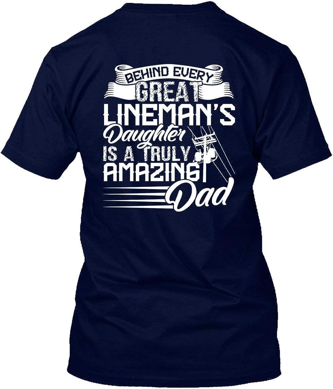 Short Sleeve Shirts Best Lineman Ever Tee Shirt