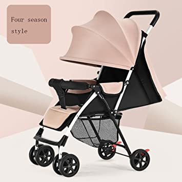 2feb2637d0749 LZTET Travel Systems Pushchairs Portable Baby Cart Can Be Used To Lie Down  Baby Folding Umbrella