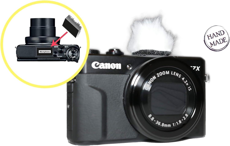 Silenciador de viento para Canon G7X Mark II y otras cámaras (kit ...
