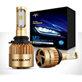 Auxbeam LED headlights F-S3 Series 9006 LED Headlight Bulbs with 2 Pcs of Conversion Kits 72W 8000LM PHILIPS CSP Chips Fog Light - 1 Year Warranty