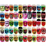 Bath and Body Works Pocketbac Grab Bag Bundle Set (New Style) (18) Anti-Bacterial Hand Gel and 1 Holder