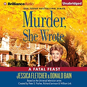 Murder, She Wrote: A Fatal Feast Audiobook