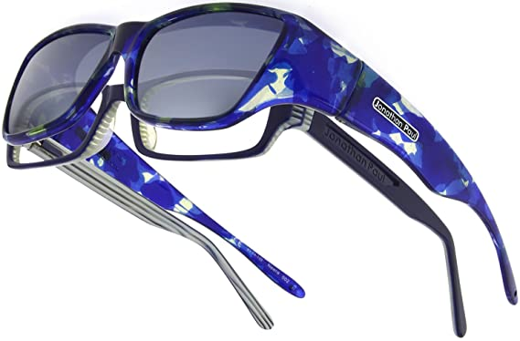 ad89fdaf3e Neera JP Fitovers - Blue Blast - Grey Lens (NR002). Roll over image to zoom  in. Jonathan Paul Fitovers