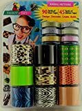 Parrot Tape 15 Roll Combo Pack - Animal Patterns