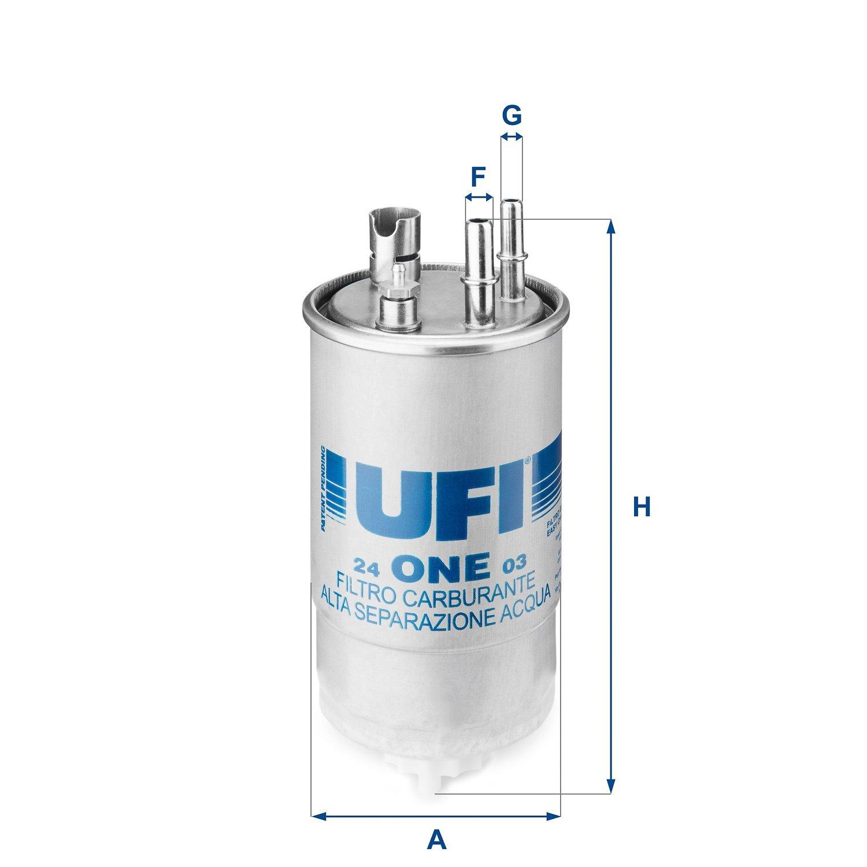 Ufi Filters 24.ONE.03 Dieselfilter