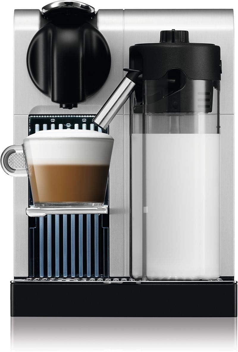الة صنع القهوة نسبريسو لاتيسيما F456 برو مي، بلون فضي F456-ME-PR-NE