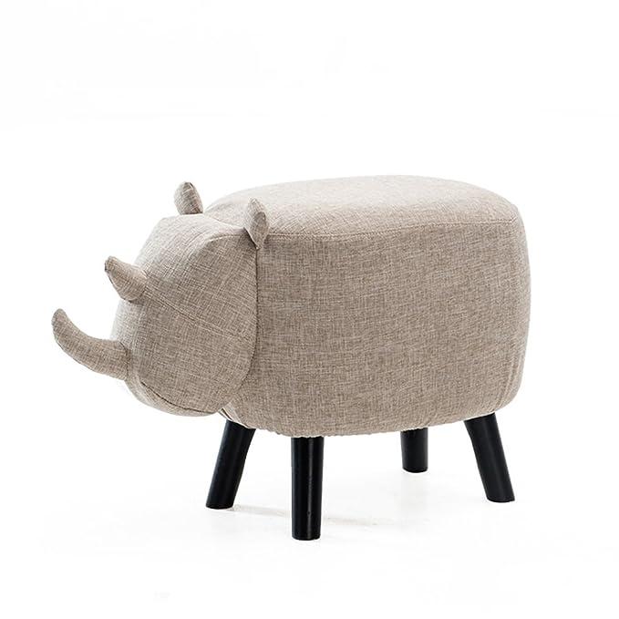 Taburete de zapato creativo para niños, madera maciza para ...