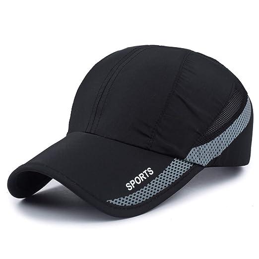 f14549c9272db Amazon.com  New High Quality UV Quick-drying Waterproof Light Shade  Baseball Cap Outdoor Hats