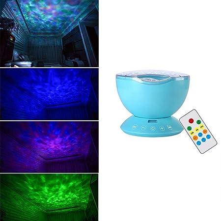 CLEAVE WAVES Océano proyector de la Onda, 12 LED Remoto Submarino ...