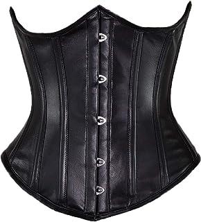 6bc852c0f Orchard Corset CS-345 Women s Leather Underbust Steel Boned Waist Training  Corset