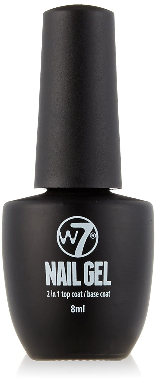W7 Cosmetics Nail Gel Polish Number 20, Base and Top Coat 8 ml ...