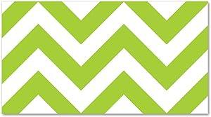 Creative Teaching Press Lime Green Chevron Border (0164)