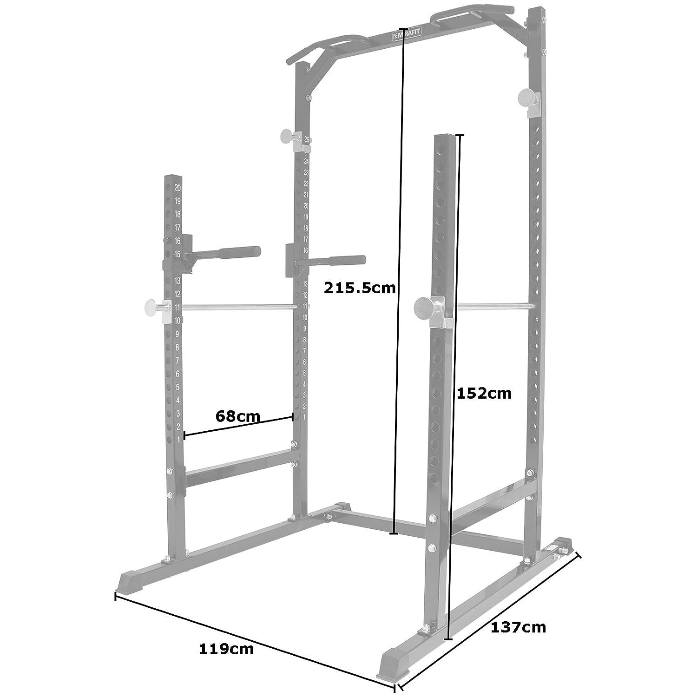 MiraFit - Jaula de potencia abierta de alta resistencia, ideal ...