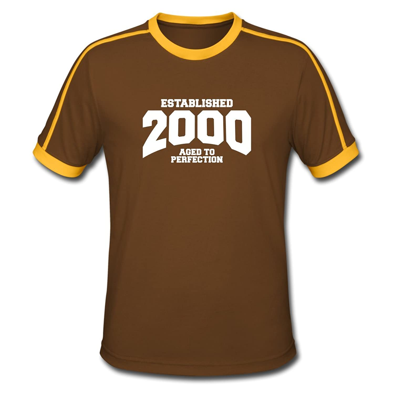 Established 2000 Birthday Men's Retro T-Shirt by Spreadshirt??