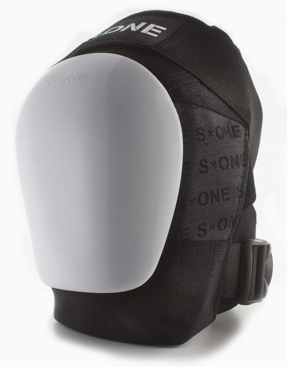 S-ONE GEN 3 PRO Knee Pads - White Cap (Small : Top of Knee 14''-15''; Bottom Knee 12''-13'') by S-ONE (Image #2)