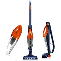 Cordless Vacuum, ORFELD Stick Vacuum Cleaner 4 in 1 Lightweight, Upright Vacuum Cleaner, Up to 40 Mins Runtime…