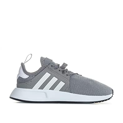 175b132f47710 adidas Boys Originals Children Boys X PLR Trainers in Grey - UK 2 ...