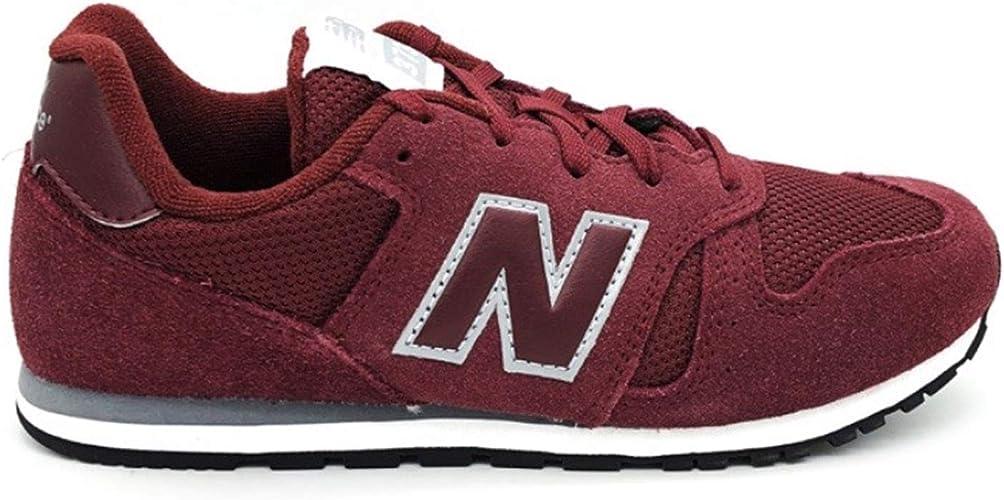 new balance 373 sneaker bambino bordeaux