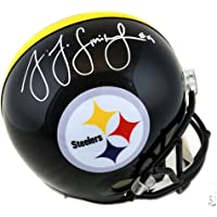 $249 » Authentic JuJu Smith-Schuster Autographed Signed Full Size Replica Pittsburgh Steelers Helmet (TSE COA)