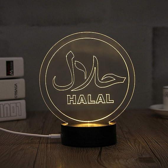 Amazon.com: CCatyam Ramadan - Guirnalda de luces LED con ...