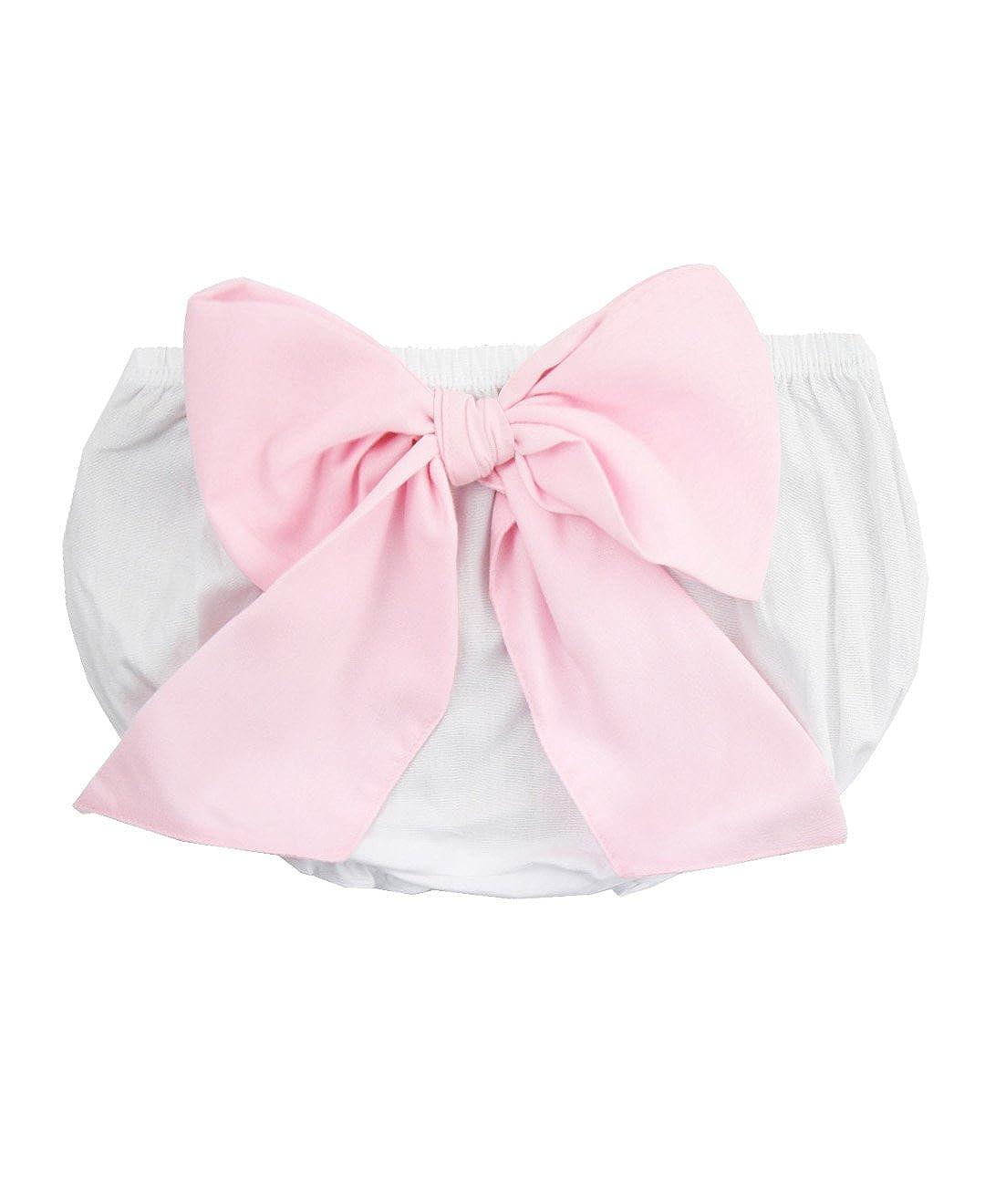 出産祝い RuffleButts Months Infant 12/Toddler Girlsホワイトbow-back Bloomer 12 - 18 Months - ホワイト B01C6FZDIK, 紳士服のマルキン井上商店:b2743d7a --- ciadaterra.com