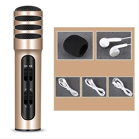 RRYM Micrófonos Micrófono De Condensador Teléfono Móvil Dual ...
