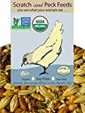 Organic, Naturally Free Grower Chicken Feed, 25lbs, Non-GMO Project Verified